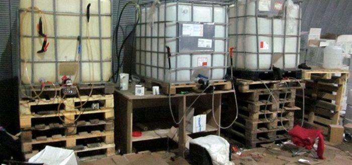 Кустарное производство алкоголя