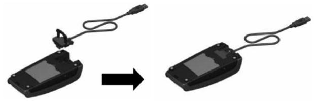 Подключение кабеля к Ingenico iPP320