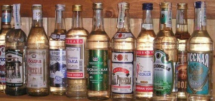 Дешевая водка
